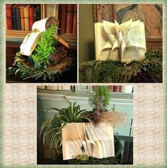 Book Decorations by gailf548, via Flickr