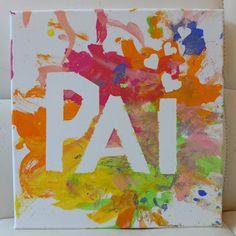 DIY - Prenda do Dia do Pai Diy Gifts For Kids, Crafts For Kids, Arts And Crafts, Diy And Crafts, Father's Day Activities, Toddler Activities, Diy Ribbon, Ribbon Crafts, Fathers Day Crafts
