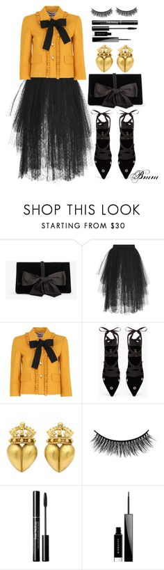 """""""Ballet"""" by bianca1408 ❤ liked on Polyvore featuring Ann Taylor, Elie Saab, Gucci, Erdem, Kieselstein-Cord, Battington, Givenchy and DateNight"""