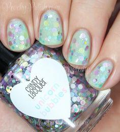 "Candy Lacquer ""Unicorn Bubbles"" | Peachy Polish"