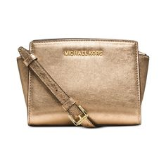 Gold mini Selma Michael kors Super cute and is brand new! Just got the Colette and I use it way more often then this beautiful bag. Michael Kors Bags