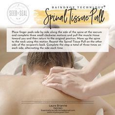 The Raindrop Technique of Massage uses the Raindrop Essential Oils as specified by Young Living Essential Oils Young Living Oils, Young Living Essential Oils, Essential Oil Blends, Massage Treatment, Raindrop Technique, How To Calm Nerves, How To Treat Anxiety, Massage Benefits, Essential Oils
