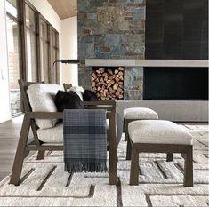 Cozy winter hideouts featuring our Modern Moroccan rug  | Room designed by @michaelabramsinteriors  #rugdesign #rugs #luxurydesign #homedecor #luxurydecor #interiordesign ##marcphillips #modernrugs
