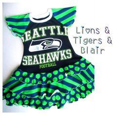 3e508ed99 Handmade UpCycle Seahawks T-Shirt Dress- Size 4T Slim- Football  Dress Twirly Dress Flutter Sleeve Toddler Dress Seattle Seahawks on Etsy