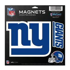 "New York Giants 11""x11"" Car Maget"