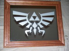 Legend of Zelda Hylian custom mirror by Nerdstalgia on Etsy, $26.99