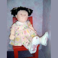 Cloth Doll Pattern Toddler Doll Pattern Doll by MorrisseyDolls2