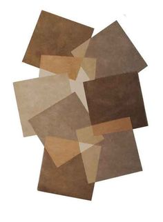Tapis salon destructure PEBBLES 1 taupe