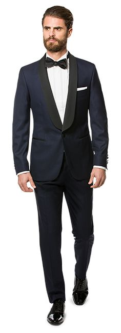 Navy tuxedo, perfect for a wedding og new year! - Mond of copenhagen