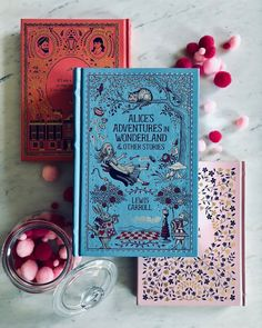 This @barnesandnoble edition of ALICES ADVENTURES IN WONDERLAND has me  You should see the detail on the inside! Its gorgeous  . . I hope you all have a happy Sunday and if youre celebrating happy Fathers Day as well!  . . . #instabooks #igreads #bookcommunity #booklovers #booknerdigans  #bookaholic #bookblogger #beautifulbooks #bibliophiles #bookspines #pinkandblue #bookworms #barnesandnoble #amreading #reading #bookaddict #classicliterature #classiclit #blueandpink…