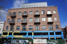 Meshberg's Factory-Style Brick Building Nears the Finish Line on Metropolitan in Williamsburg...