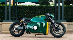 2014 Lotus C-01 – one of 100 built, these were designed by Daniel Simon, the same guy who penned the Lightcycles from Tron: Legacy. It's never been ridden and Mecum thinks it's the only one in North America. Original MSRP was $137,000 and it produced nearly 200 horsepower from a 1,195cc KTM engine. I never understood this bike because something with the Lotus name should be small, light, and just have adequate power. But it sure is unique, I guess.