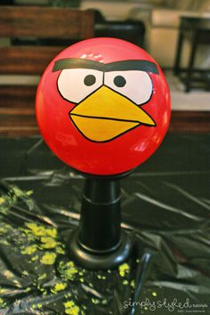 How to make the Angry Birds and Pigs for life size game
