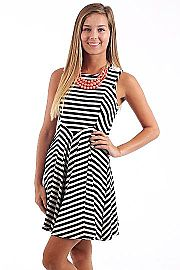 Sail With Me Dress, black $42 www.themintjulepboutique.com
