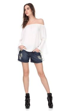 É seu preferido ?   Bermuda Jeans Comfort com Cinto  ZOOM  http://imaginariodamulher.com.br/look/?go=2d53iT7