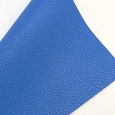 Denim Blue Textured Faux Leather Faux Leather Fabric, White Cotton, Blue Denim, Cotton Canvas, Craft Projects, Bows, Wallet, Crafts, Color
