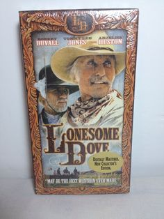 Lonesome Dove VHS 1988 New Digitally Mastered Collector's Edition Gift Idea