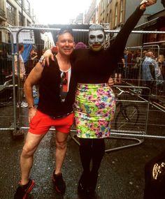 With Danny Beard at #pride2016
