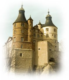 Chateau de Montbeliard - France-Comte