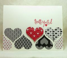 SU! You Plus Me stamp set; Stacked With Love DSP - Kath Ricks