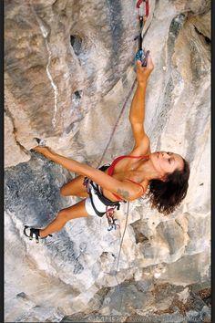 Girls climb
