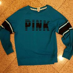 Pink top Great as a gift As new never worn just adorable PINK Victoria's Secret Jackets & Coats