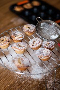 Mamma Papera — Tartellette frangipane alla mela