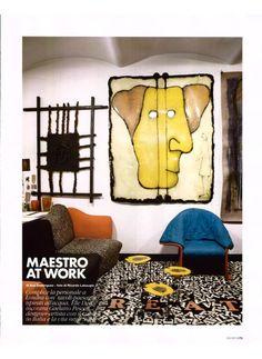 ELLE DECOR ITALY - FELTRI, design Gaetano Pesce