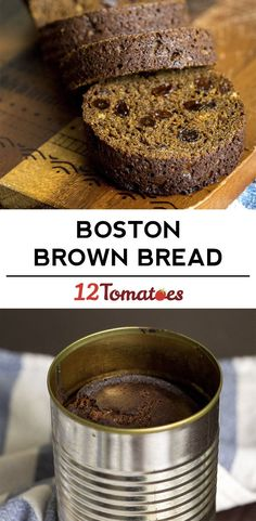 Old-Fashioned Boston Brown Bread