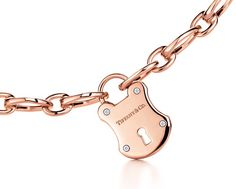 Tiffany & Co. Lock Charm in rose gold