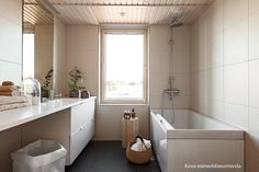 Ammeen vieressä ikkuna Helsinki, Alcove, Bathtub, Bathroom, Home, Standing Bath, Washroom, Bathtubs, Bath Room