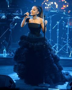 Pin for Later: Forget Less Is More — Ariana Grande's Ball Gown Is All About Bigger and Better
