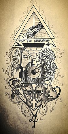 Pink Floyd tattoo idea - Jasmijn Beije