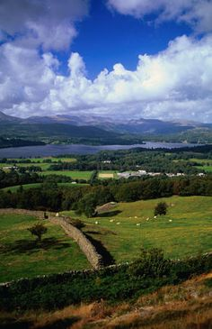 Lake District, England: as sublime as the Romantic poets portray it.
