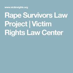 Rape Survivors Law Project | Victim Rights Law Center