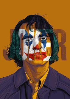 Art Prints & Printing Services by jasonpooley Joker Poster, Movie Poster Art, Film Posters, Joker Film, Joker Dc, Joker Wallpapers, Cute Cartoon Wallpapers, Joker Images, Film Poster Design
