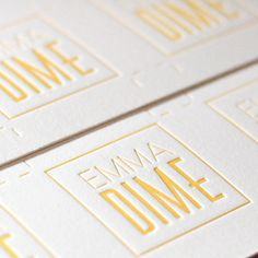Letterpress Studio In LA Business Cards Printing Visit Carte