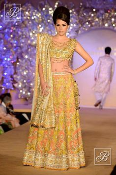 Abu Jani Sandeep Khosla designer lehenga collection