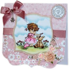 Netty's Cards: Pretty in Pink