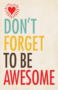 Be Awesome Decor