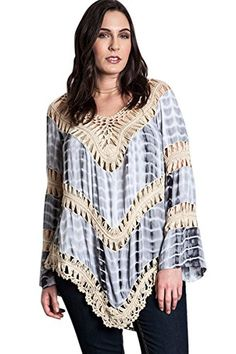 ARIS Bohemian Knit Tunic with Lacy Crochet Trim -PLUS- Umgee http://www.amazon.com/dp/B00V42U6MA/ref=cm_sw_r_pi_dp_s8IWvb0YHA3R8