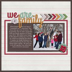 Trina's layout using Juno's contribution to The Digi Files during March 2014