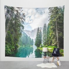 The Place To Be Wall Tapestry by Mixed Imagery | Society6
