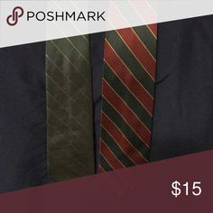 2 Hog Warts Ties Hear are two ties that remind me of Hogwarts from Harry Potter. Both ties bundled together for one low price. Accessories Ties