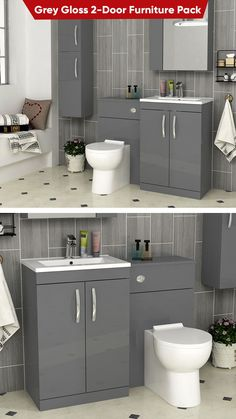 White Bathroom Furniture, Bedroom Furniture Design, Luxury Furniture, Bedroom Decor, Bathroom Inspo, Bathroom Art, Royal Bathroom, Hickory Cabinets, Kapil Sharma