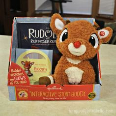 @Hallmark Rudolph Interactive Story Buddy - a great Christmas experience with the kids!