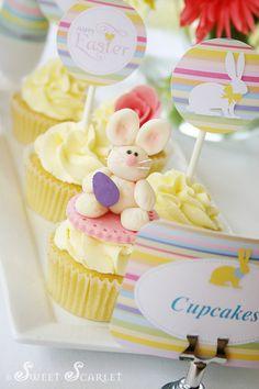 Cute bunny cupcake!