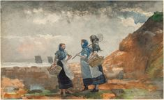 Watercolour Artists Famous Winslow Homer Wikipedia The Free Encyclopedia