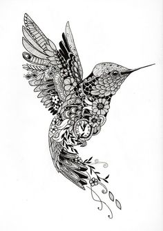 "Tattoo template ""Hummingbird""- Tattoo-Vorlage ""Kolibri"" Tattoo design of a . - Tattoo template ""Hummingbird""- Tattoo-Vorlage ""Kolibri"" Tattoo design of a hummingbird of - Hummingbird Flower Tattoos, Hummingbird Drawing, Tattoo Bird, Hummingbird Quotes, Hummingbird Symbolism, Hummingbird Tattoo Meaning, Owl Tattoo Drawings, Mum Tattoo, Hummingbird Pictures"