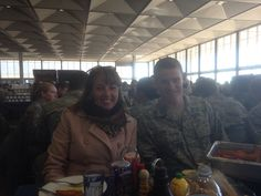 AFA lunch with the cadets